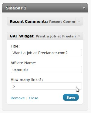 gaf_widget