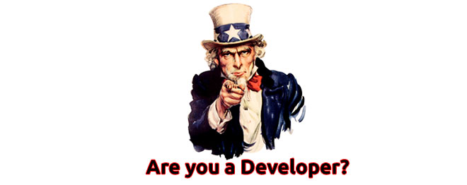 Are you a developer?